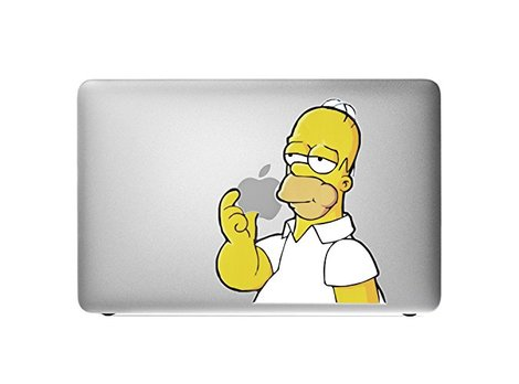 Homer Simpson MacBook-Sticker Produktbild