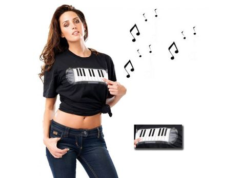 Piano Sound T-Shirt Produktbild